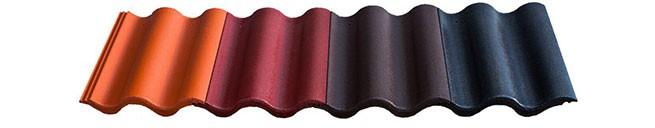 Odolné betonové střešní tašky v příjemných barevných odstínech
