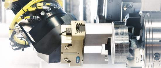 Sortiment hydraulických, pneumatických a elektrických chapadel SCHUNK