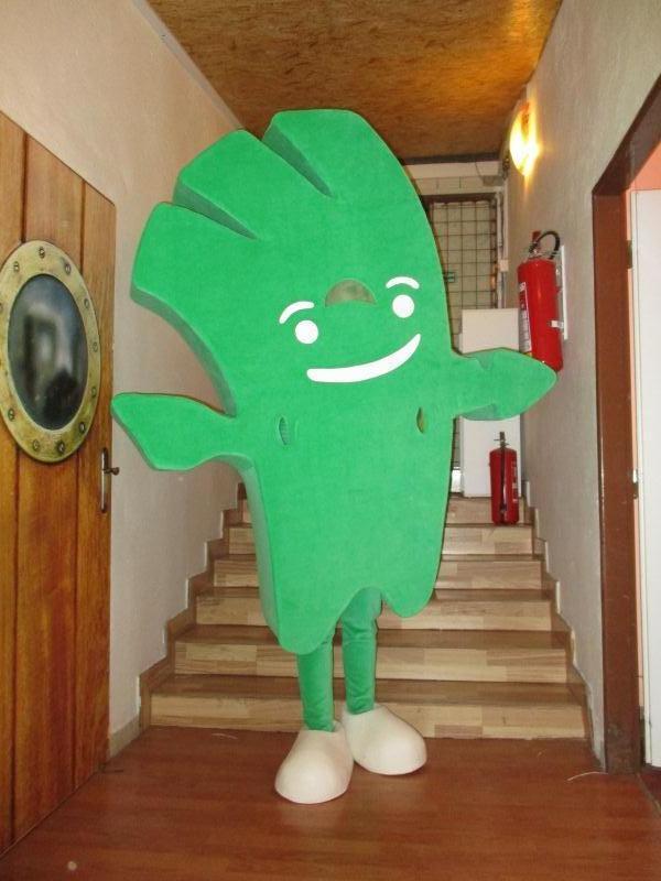 Zhotovený reklamní kostým Alzáčka pro společnost Alza