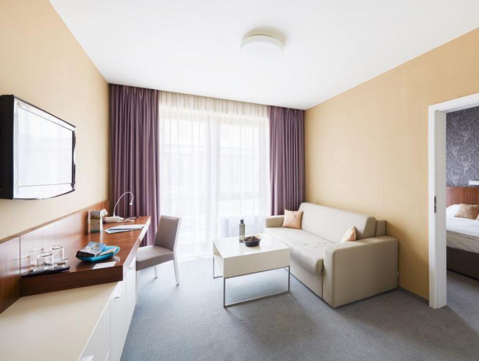 Spa Resort Lednice poskytuje ubytování v moderních pokojích