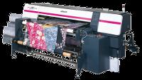 Velkorychlostní textilní tiskárny Mimaki pro potisk bavlny, polyesteru, hedvábí