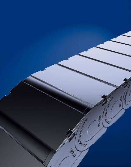 Uzavřené kabelové řetězy KabelSchlepp dodává CONTRA PRAHA s.r.o.