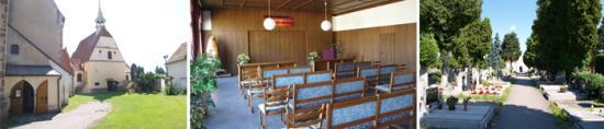 Zajištění smutečního obřadu, církevní služby, květinové výzdoby