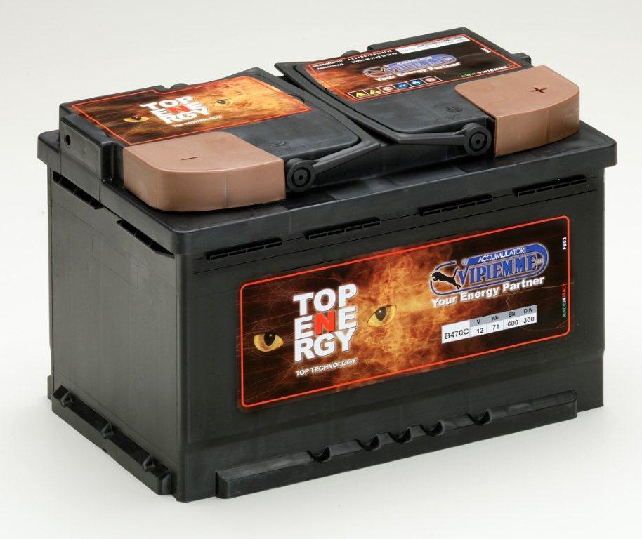 Akumulátor Vipiemme Top Energy - spolehlivá autobaterie