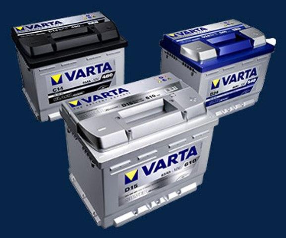 Autobaterie VARTA, STABAT za příznivé ceny, Uherské Hradiště