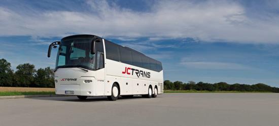 JC Trans, s.r.o. zajišťuje vnitrostátní a mezinárodní autobusovu dopravu