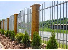 Oplocení zahrady realizované firmou Hanoka