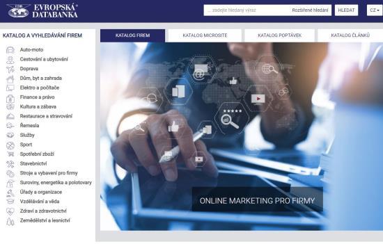 Ukázky reklamních bannerů, Evropská databanka