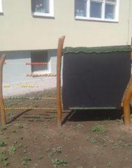 Kreslicí tabule s počítadlem - vybavení dětských hřišť