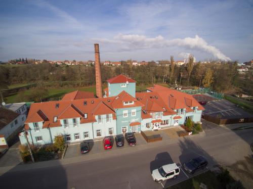 Penzion Lihovar v Rouchovanech v okrese Třebíč