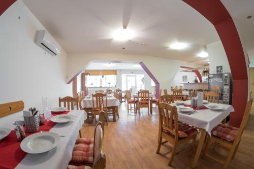 Restaurace v penzionu v Rouchovanech na Vysočině