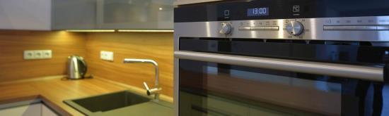 Kuchyňské spotřebiče nabízí studio HON-kuchyně Opava