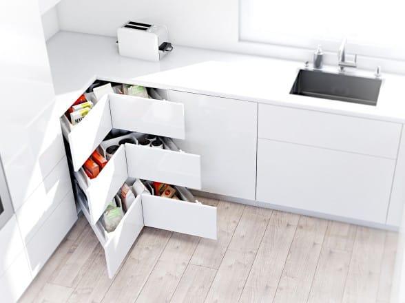 Kuchyňské komponenty, úložný program, kování HON-kuchyně