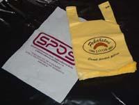 Polyetylénové sáčky, pytle, fólie k hygienickému balení potravin