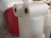 Bublinkové fólie k balení zboží pro přepravu a manipulaci