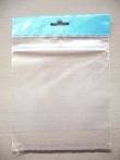 Sáčky s eurovýsekem a perforací, zip, klopa, páska