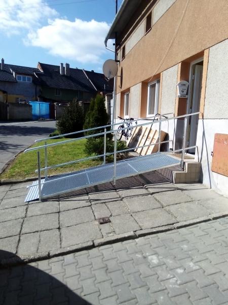 Ocelové rampy, MANUS Prostějov, spol. s r.o.
