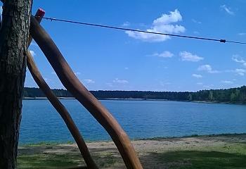 Jezero Lhota je vzdálené pouze 20 km od Strašnova