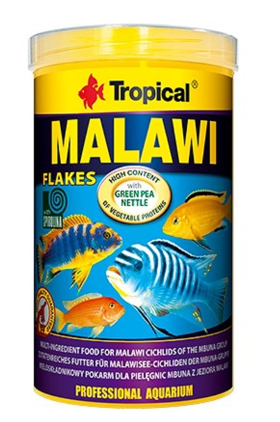 Zdravé krmení akvarijních ryb krmivem Tropical