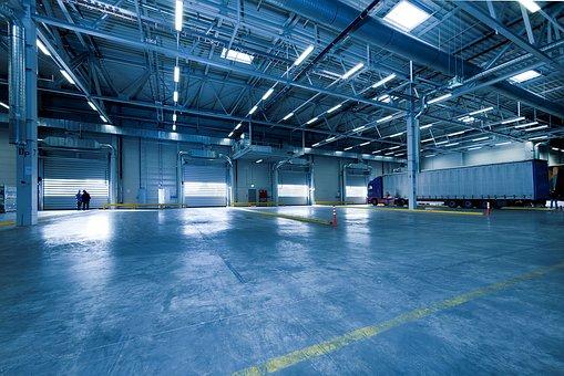 Výrobní a skladovací haly z ocelových konstrukcí