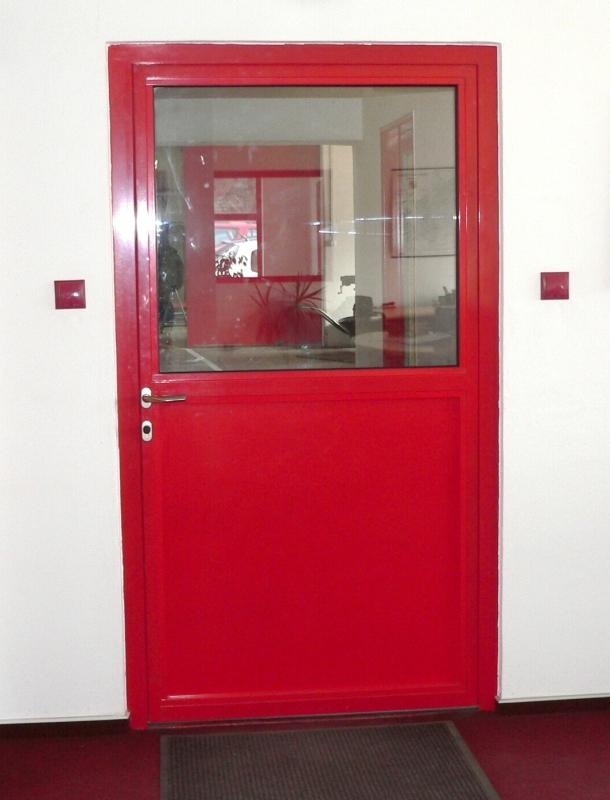 Protipožární ocelové dveře jednokřídlové interiérové