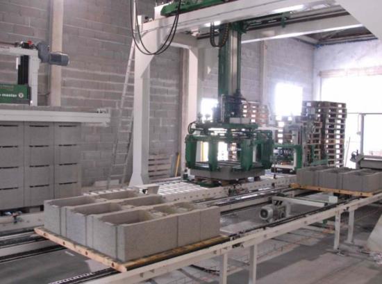 Manipulační linky pro betonářský průmysl