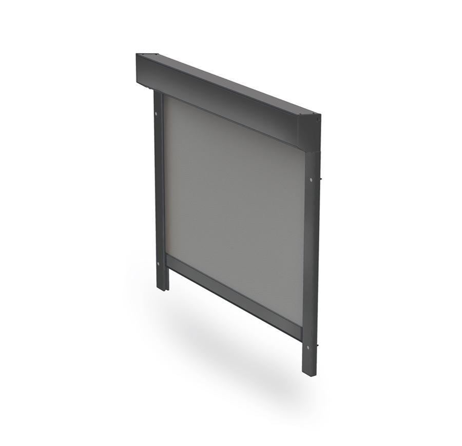 Screenové látkové rolety pro příjemné stínění