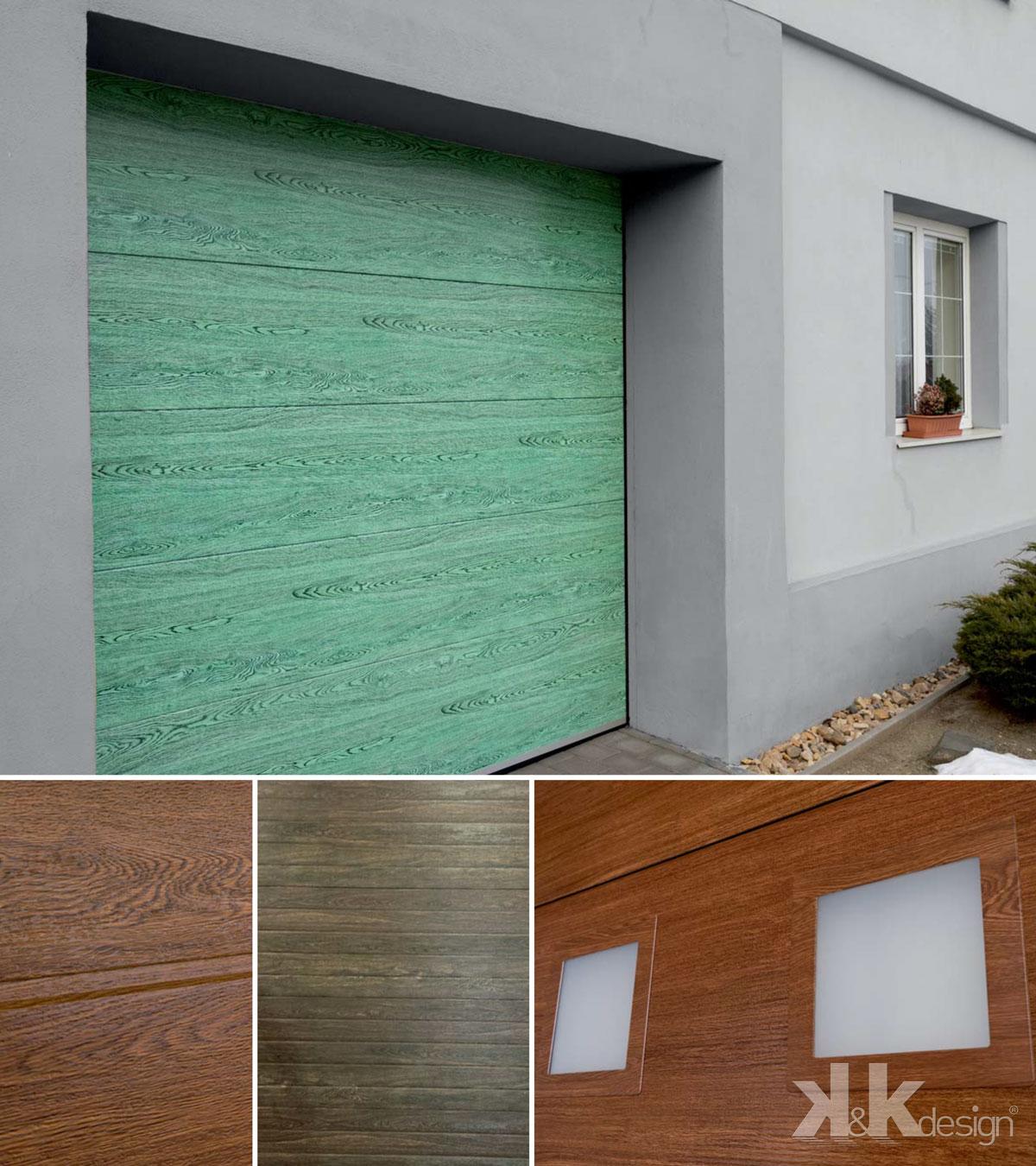 Sekční garážová vrata od firmy K&K design Ostrava
