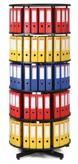 Výroba otočných archivačních skříní na šanony