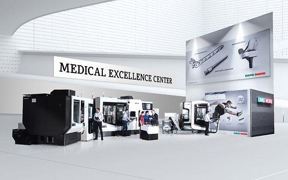 DMG MORI zdokonaluje lékařské technologie