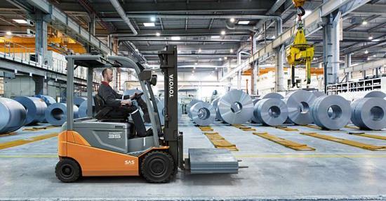 Bezpečnostní a ochranné prvky Toyota Material Handling CZ