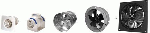 Ventilátory Zlín - Karel Ušela nabízí všechny typy ventilátorů