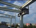 Výroba, dodání, montáž ocelových konstrukcí, jeřábových drah, ramp, plošin
