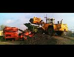 Recyklace asfaltu a betonu v Recyklačním dvoře v Ostravě, prodej recyklátů