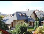 Rekonstrukce střechy, pokrývačské, klempířské a tesařské práce