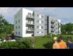Bydlení v novém bytovém domě v Bystřici nad Pernštejnem, Vysočina