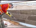 Tryskání, pískování fasád,  ocelových konstrukcí, sanance zdiva, cihel sklepů