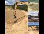 Zemní a výkopové práce pomocí stavebních strojů, terénní úpravy