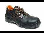 Bezpečnostní pracovní obuv s ortopedickým tvarováním a protiskluzovou podrážkou