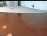 Syntetické lité podlahy do veřejných a průmyslových objektů či bytů