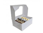 Potravinové krabice z lepenky na cukrářské výrobky, paletky na potraviny