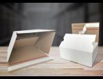 Rychloboxy, rychloobaly z třívrstvé lepenky pro rychlé a bezpečné balení zboží