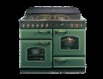 Moderní kuchyňské spotřebiče – anglické kombinované sporáky a designové digestoře