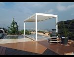 Samonosná bioklimatická pergola ARTOSI s inovativním a čistým designem