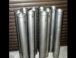 Průmyslová výroba z nerez oceli, svařování a broušení nerez materiálů