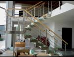 Nerezové zábradlí do interiéru i exteriéru – zakázková výroba Ostrava