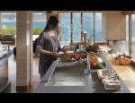 Návrhy kuchyní v 3D rozměru, kuchyňské sestavy podle návrhu designera