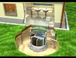 Monitorování a řízení domovních ČOV, dálkové odečty vodoměrů, kontrola a řízení vodojemů