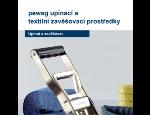 Upínací a textilní zavěšovací prostředky Pewag pro profesionální použití