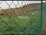 Výroba zahradního pletiva ALU GREEN, poplastovaného a pozinkovaného pletiva
